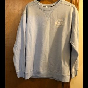 VS PINK SWEATSHIRT SIZE XS SMALL STAIN SEE PIC EUC